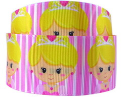 Fita de Gorgurão Princesa Aurora cute - 38mm X 10m