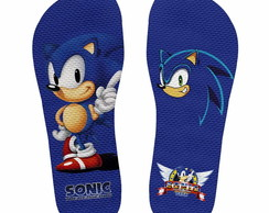 Chinelo Sonic the Hedgehog