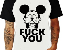 Camiseta Raglan Fuck You