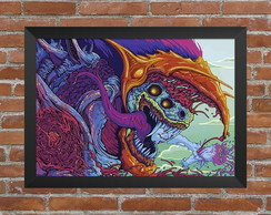 Quadro Counter Strike - Csgo Hyper Beast