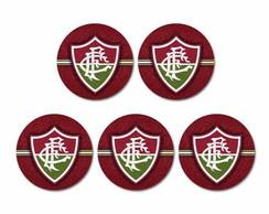d1d91f5815 Jogo de Porta Copo Fluminense