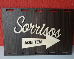 Placa Decorada A Laser Da457