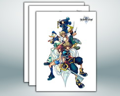 Poster Kingdom Hearts 2 - 30x40 cm