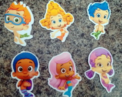 50 apliques - bubble guppies