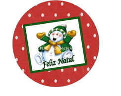Latinha mint to be Natal