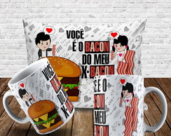 Kit Você é o Bacon do meu X Bacon