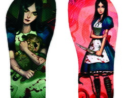 Chinelo Alice Madness Returns - Modelo 2