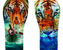 Chinelo As Aventuras de Pi - Life of Pi