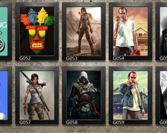 Quadros Decorativos 20x30cm Com Moldura: Games E Geek