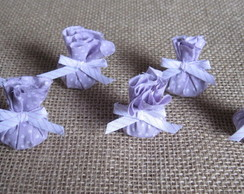 Kit 6 MINI saches Lavanda orgânica lilas