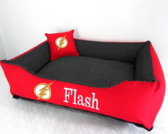 Cama Pet cachorro/gato - Super Heroi Flash (M)