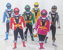 Display (Totem) - Power Ranger (Mega Force) 25cm