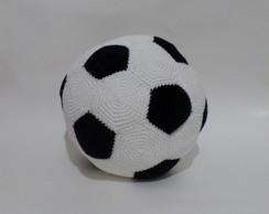 fac9ee8400 ... Bola de Futebol em Crochê