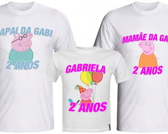 Kit Camisetas Familia