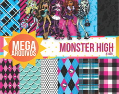 Papel digital Monster High