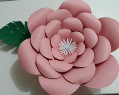 molde para flor gigante elo7