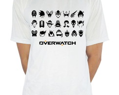 Camiseta Personagens Overwatch