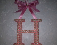 Letras decoradas h