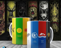Caneca Game Of Thrones - Símbolos