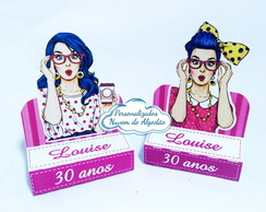 Porta Chocolate - Pin Up