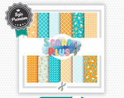 Papel Digital Luxo Scrap Plus