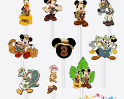 Tag no Palito Mickey Safari