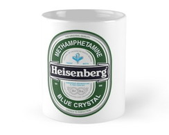 Caneca Porcelana Breaking Bad