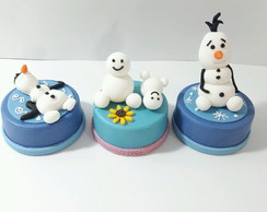 Alfajor decorado Frozen Fever