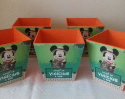 Cachepot MDF Mickey Safari