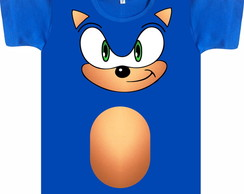 Camiseta Adulto Sonic