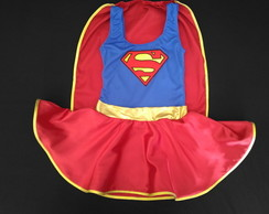Vestido Fantasia Super Girl Adulto
