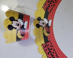 Forminha Cupcake Mickey Mouse