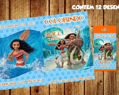 Kit Colorir da Moana