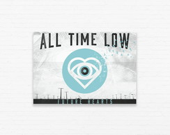 Quadrinho 19x27 All Time Low - Future Hearts
