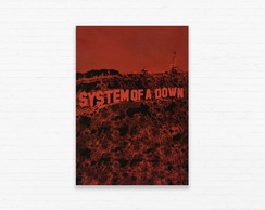 Quadrinho 19x27 System of a Down - Toxicity