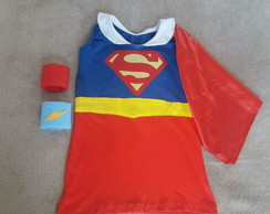 Kit Vestido Supergirl