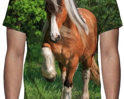 Camiseta Cavalo - Estampa Total