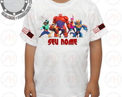 Camiseta Big Hero Camisa ah01121