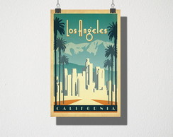 Poster A3 Los Angeles