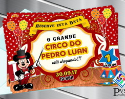 SAVE THE DATE CIRCO DO MICKEY DIGITAL
