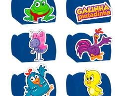 50f4808e20e06 ... Forminha Doces Festa Galinha Pintadinha Azul - 24 Unidades