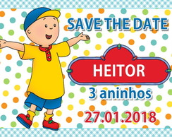 Save The Date Caillou