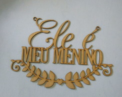 Placa de cadeira do noivo