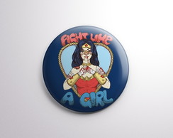 Botton - Fight like a girl