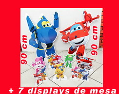Totem de chão Kit SUPER WINGS e diplays de mesa