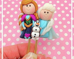 Clips decorados frozen