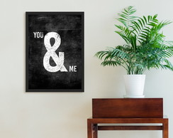 Poster A4 You & Me