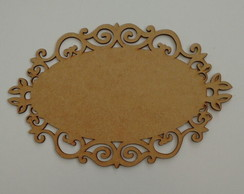 PLACA ARABESCO 40x26 MDF