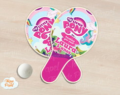 Raquete de ping pong my little pony