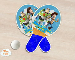 Raquete de ping pong toy story
